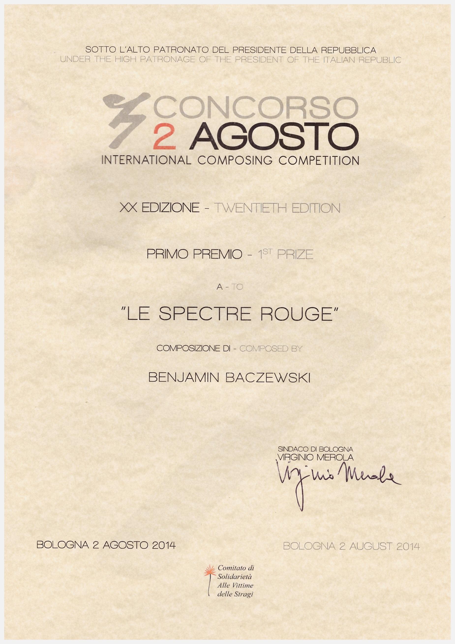 Dyplom_Baczewski_Bolonia_2014_www