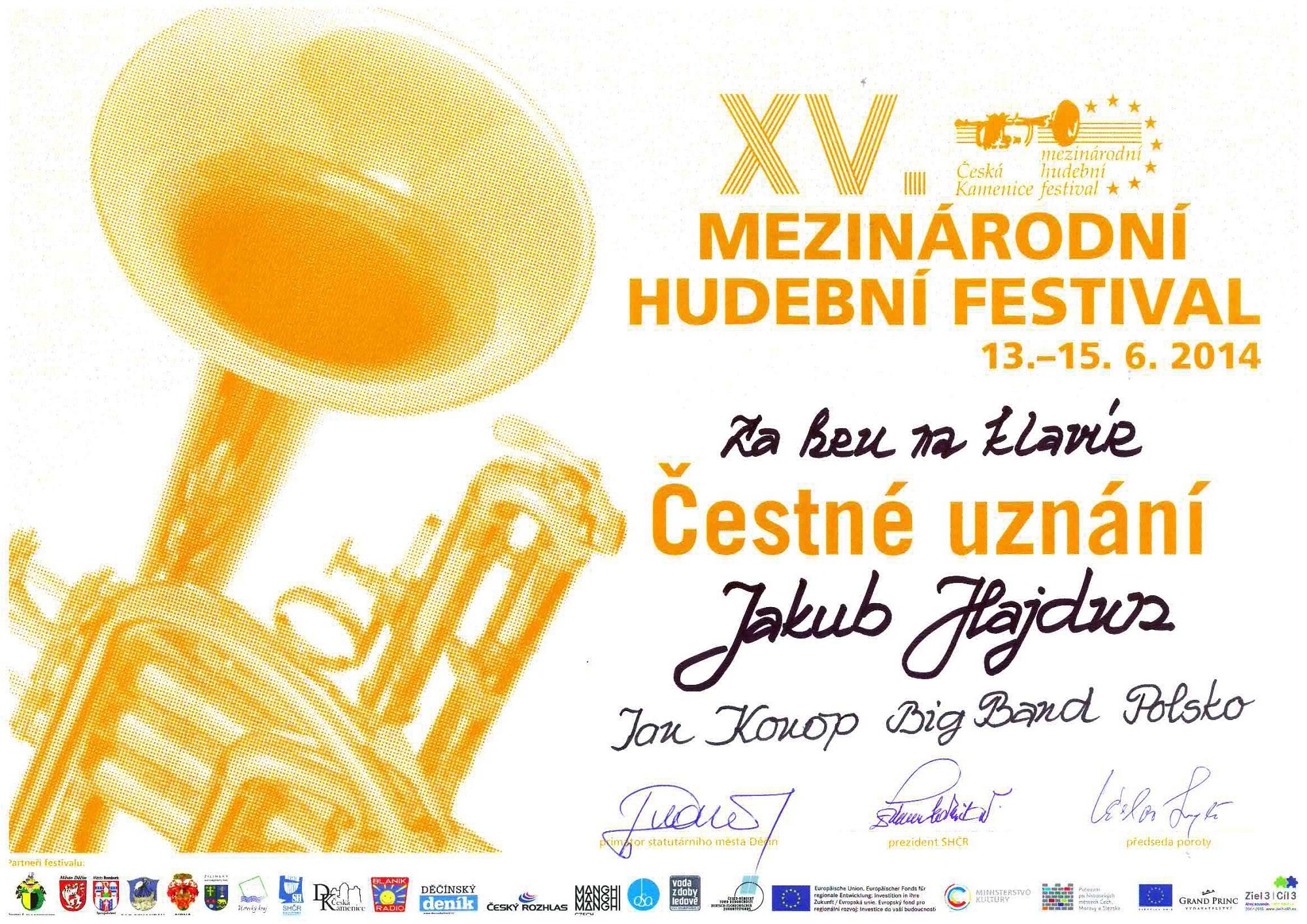 Hajdun_dyplom_Big-Band_Czechy2014_www