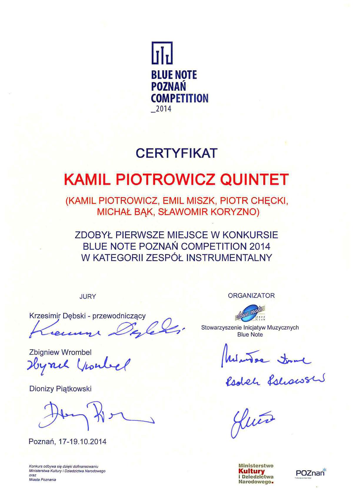 Kamil_Piotrowicz_Quintet_I_nagroda_Poznan_www