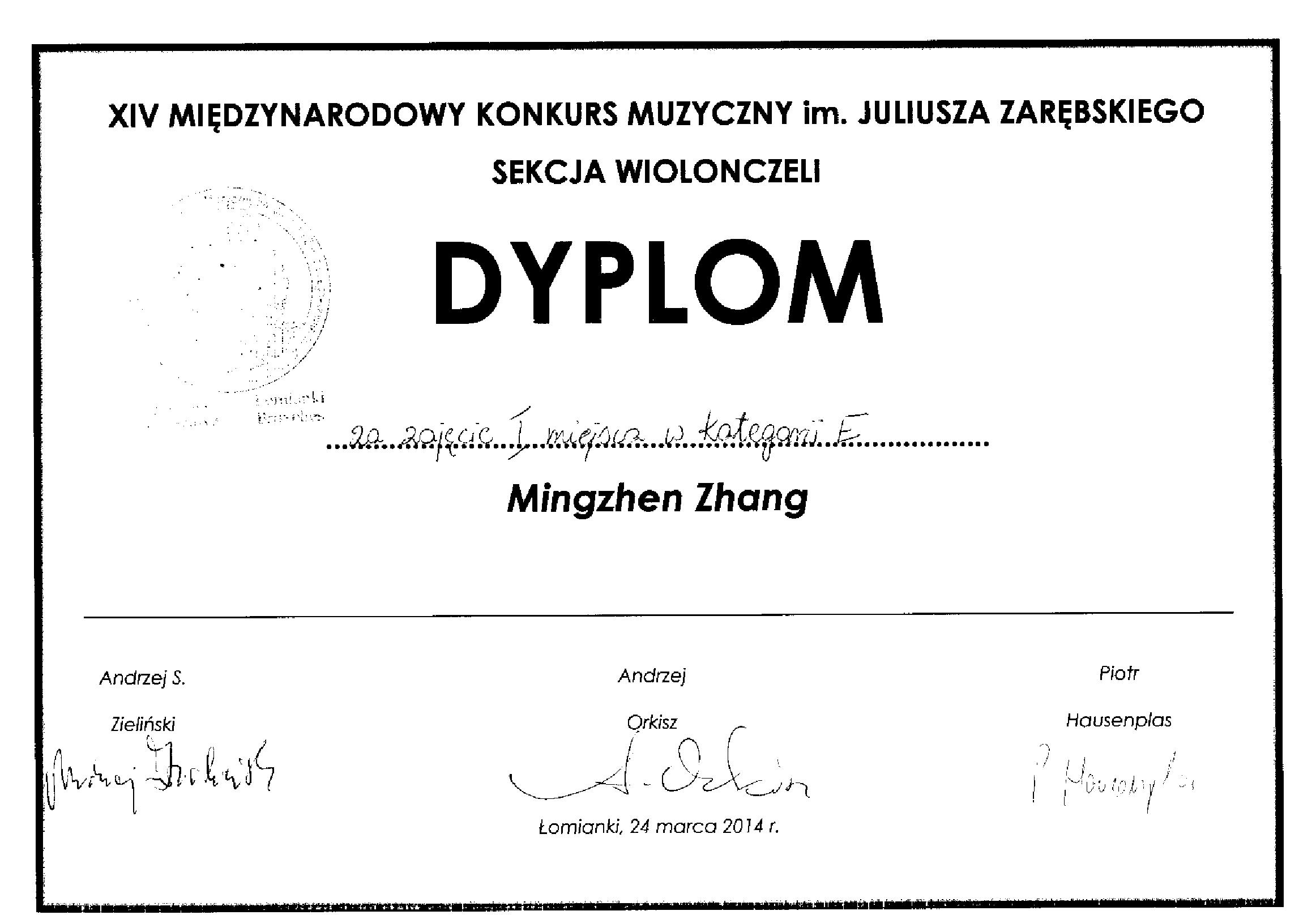 Mingzhen_Zhang_Łomianki_dyplom