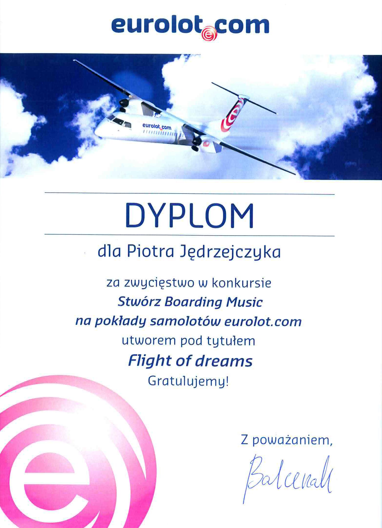 Piotr_Jędrzejczyk_Eurolot_dyplom