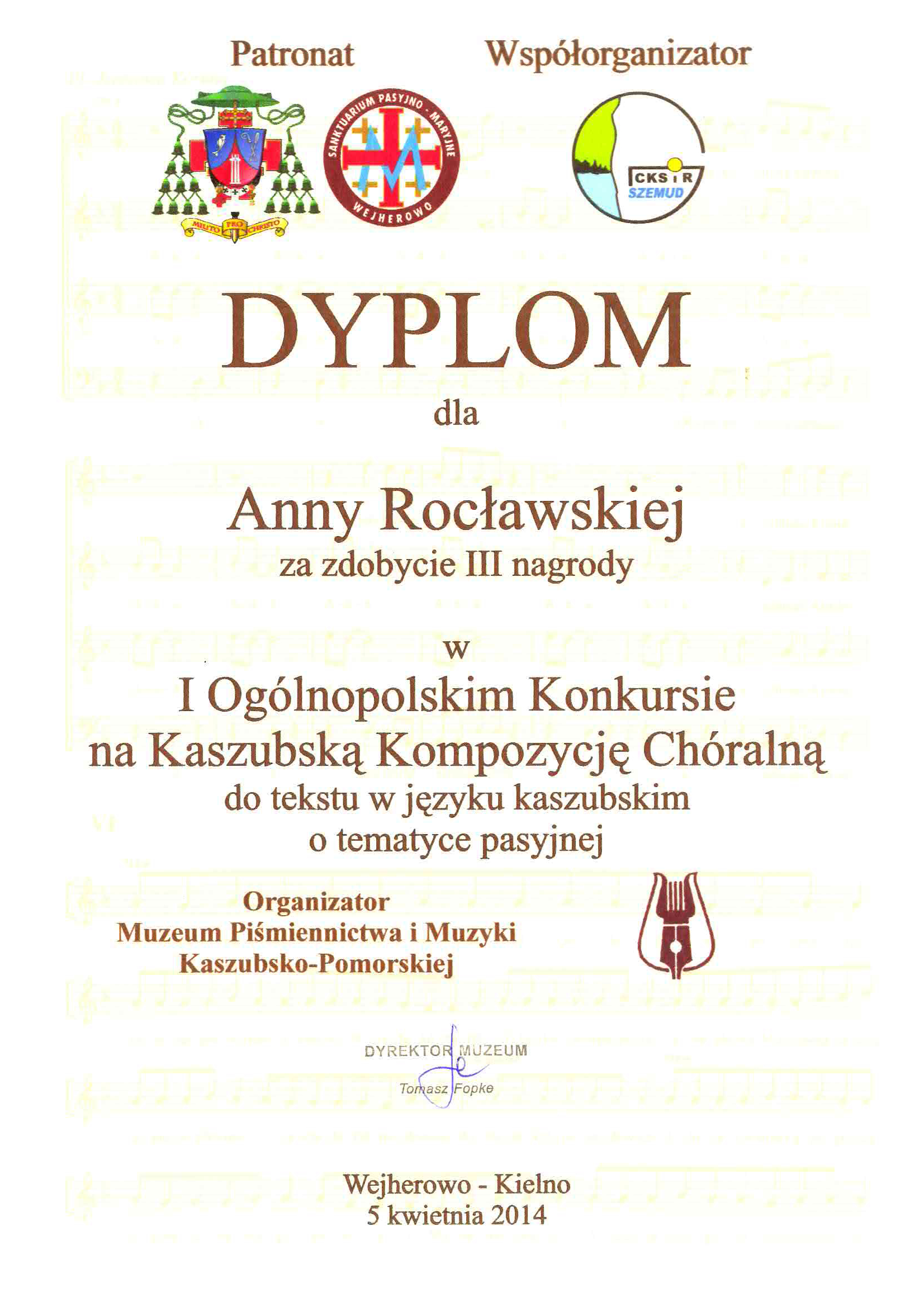 Roclawska_III_nagroda_konkurs_kompozytorski_2014_