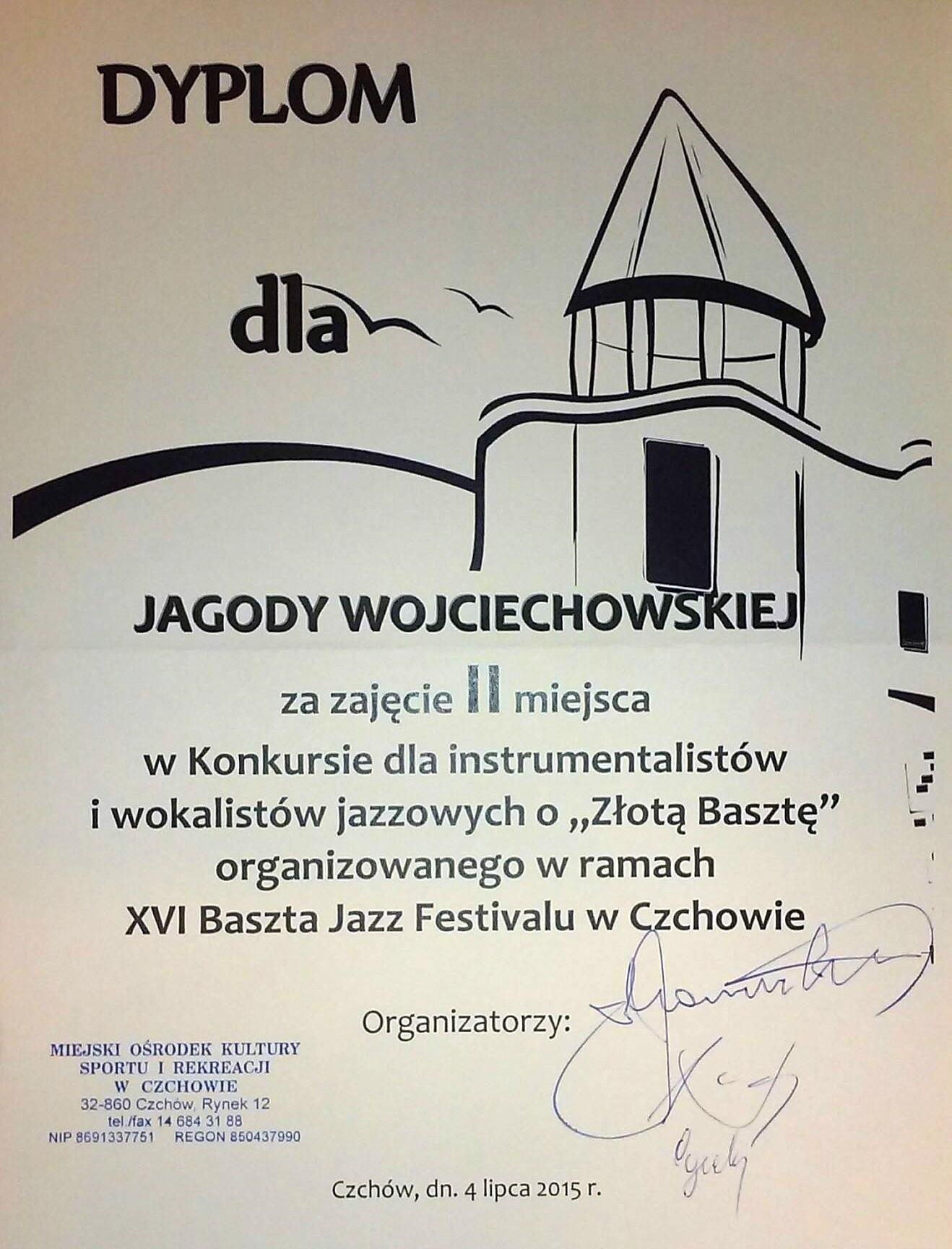 Jagoda Wojciechowska_II miejsce