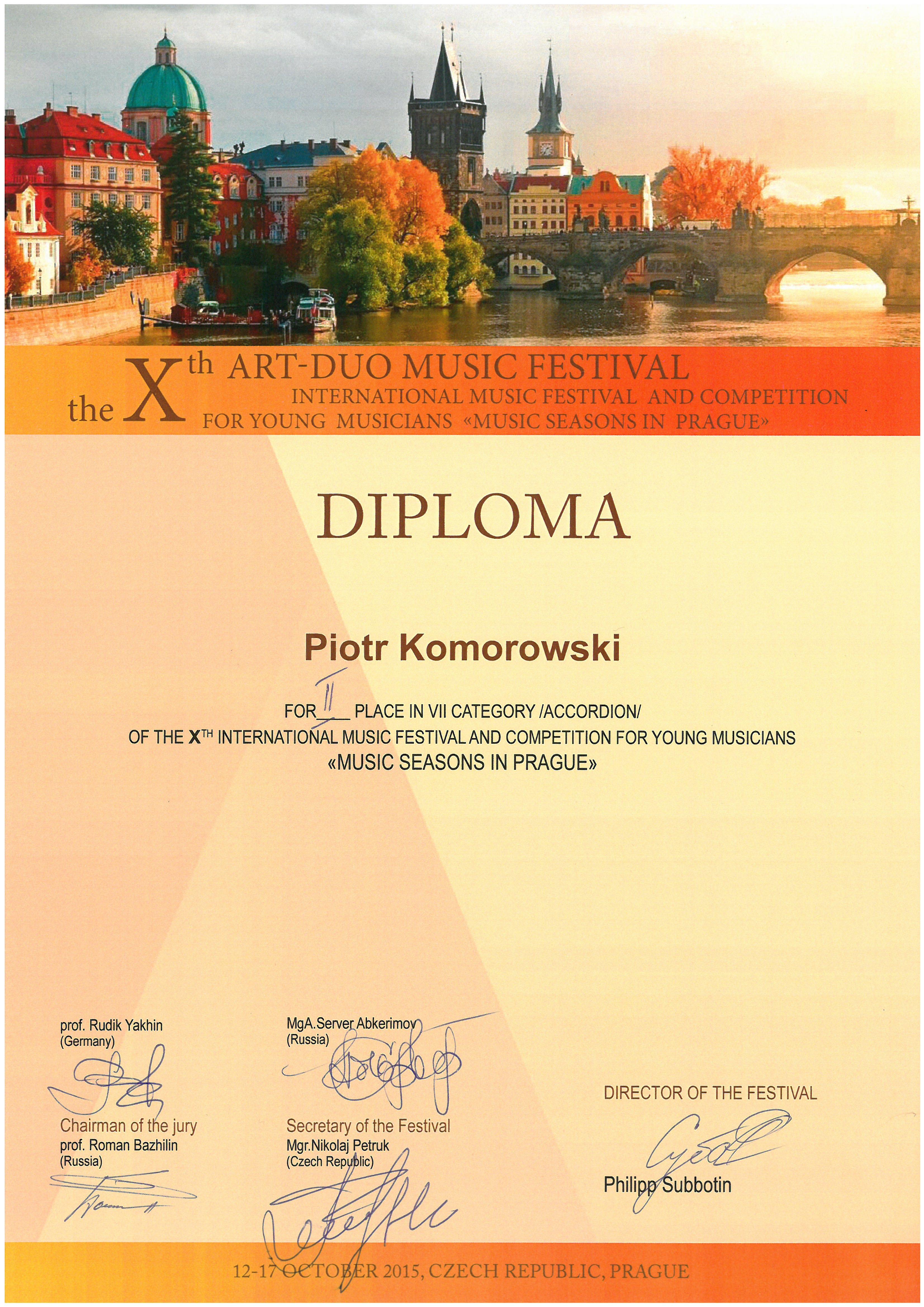 Komorowski_Piotr_II miejsce
