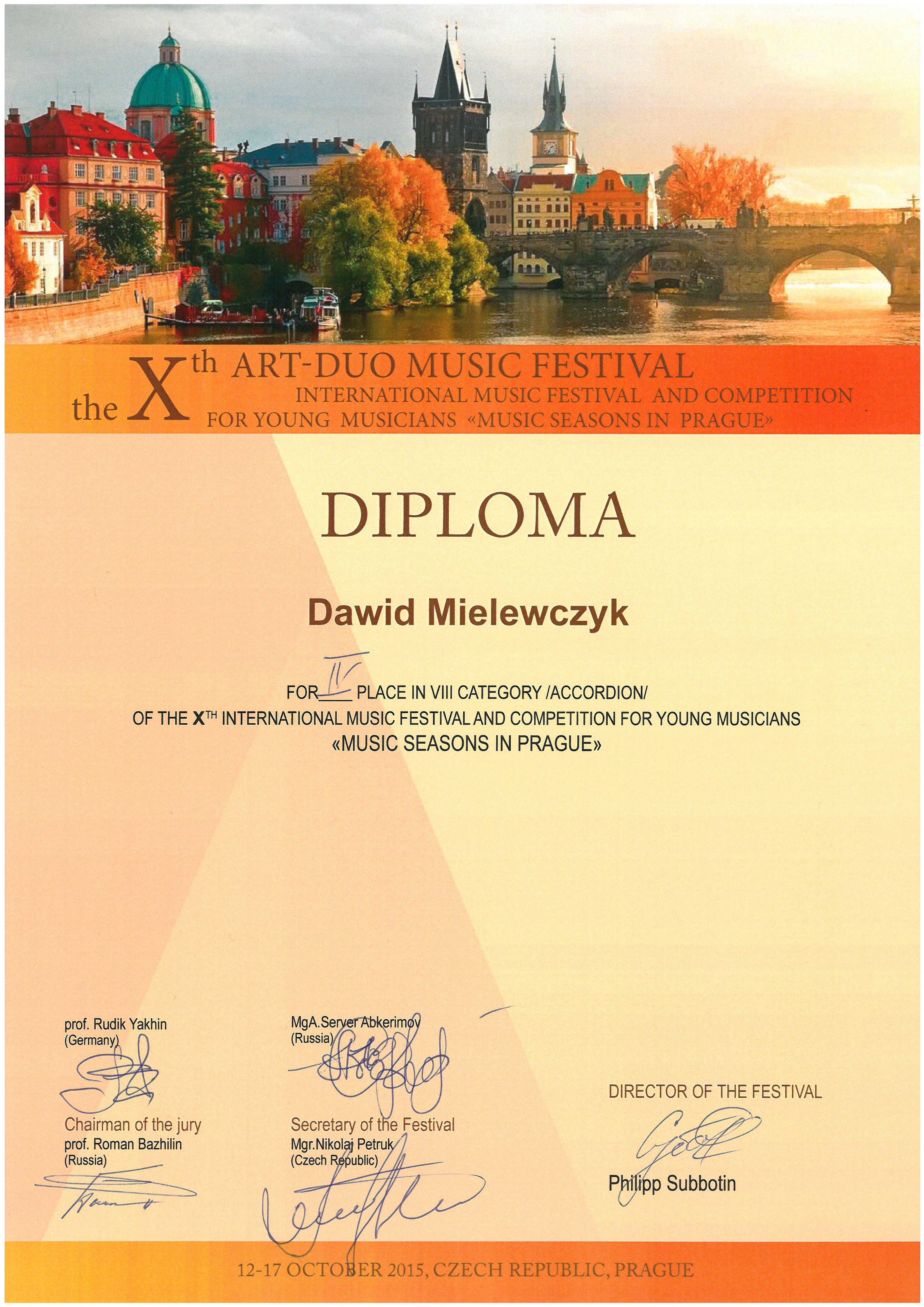 Mielewczyk_Dawid_IV nagroda