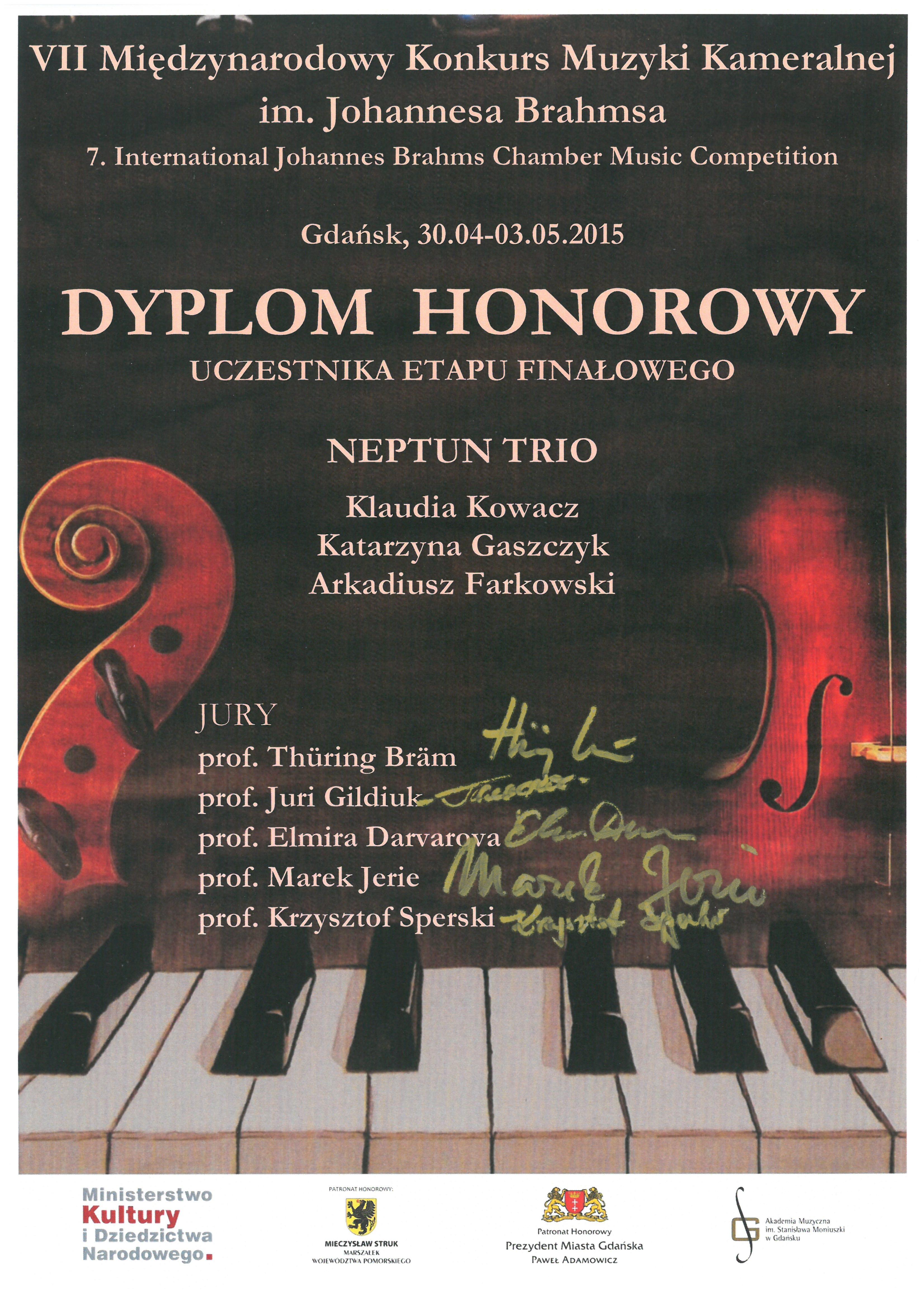Neptun_Trio_Brahms_2015_dyplom_honorowy