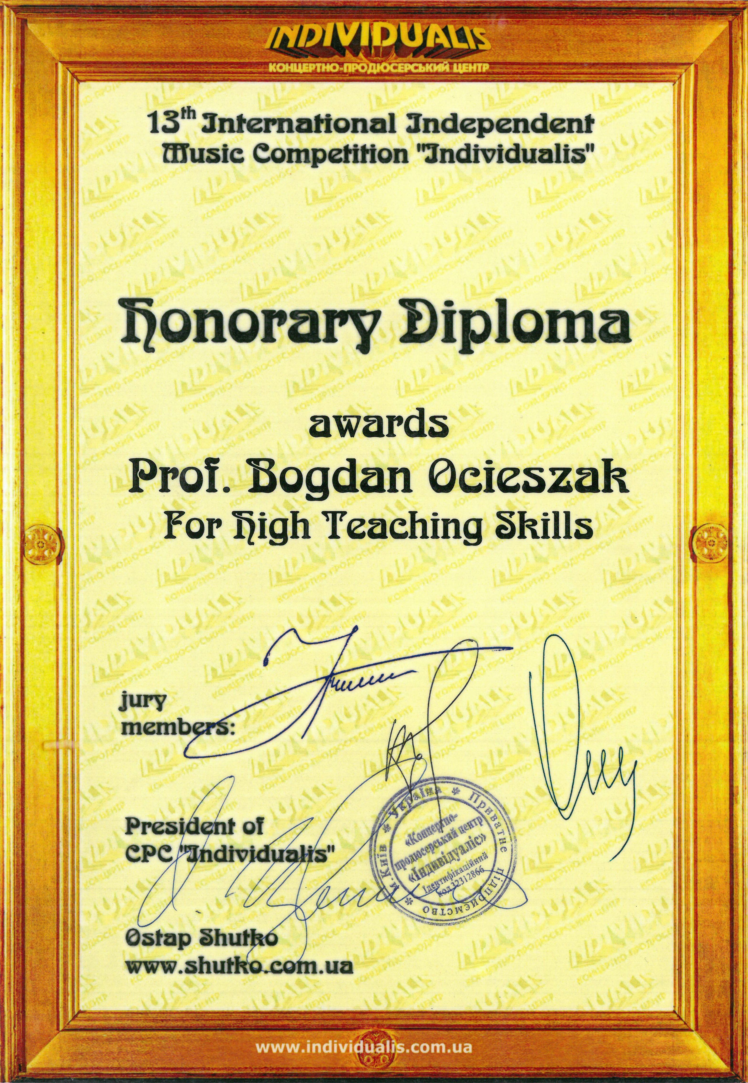 Ocieszak_dyplom_honorowy_Kijow_2015