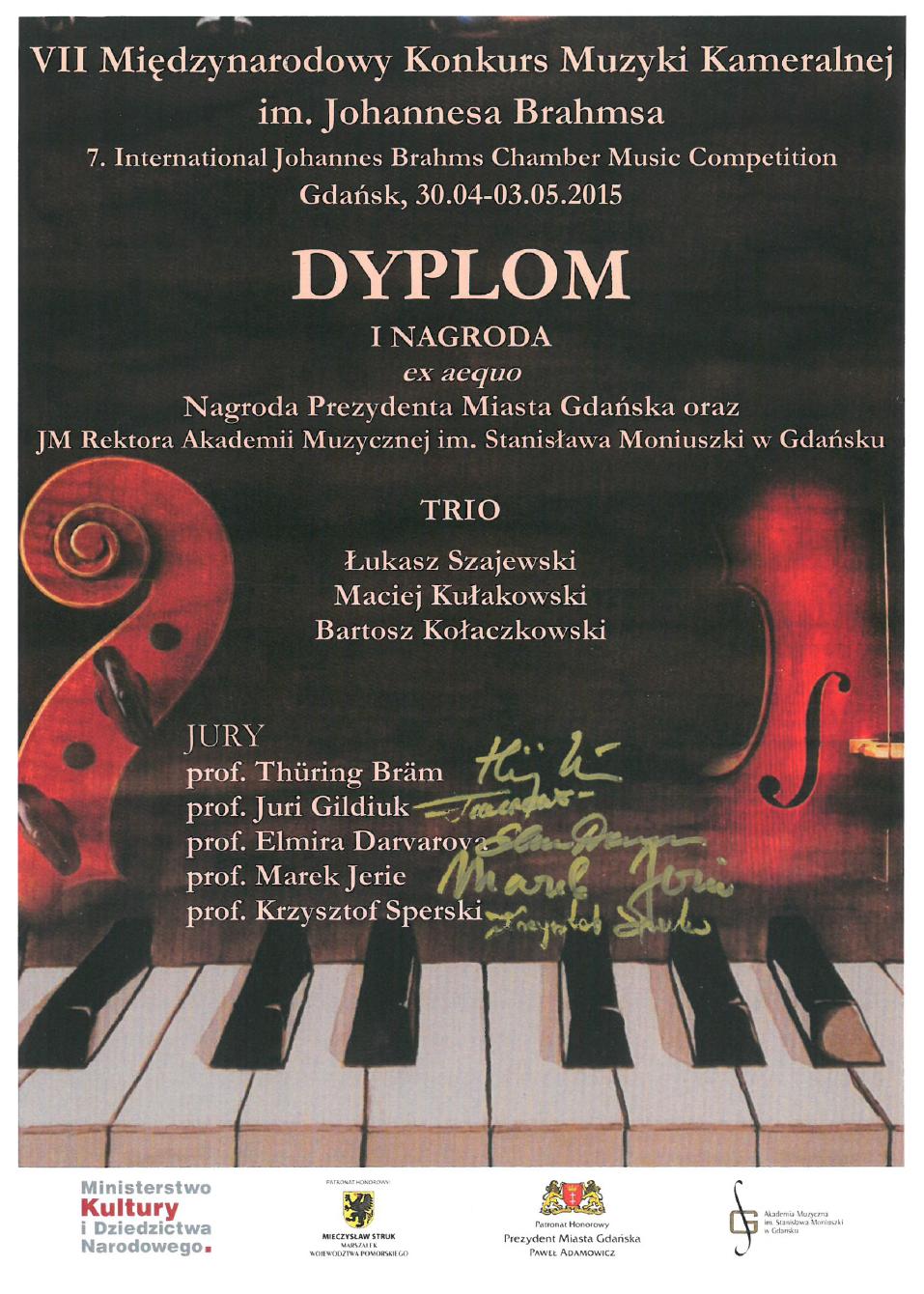 Trio_Szajewski_Kolaczkowski_Kulakowski