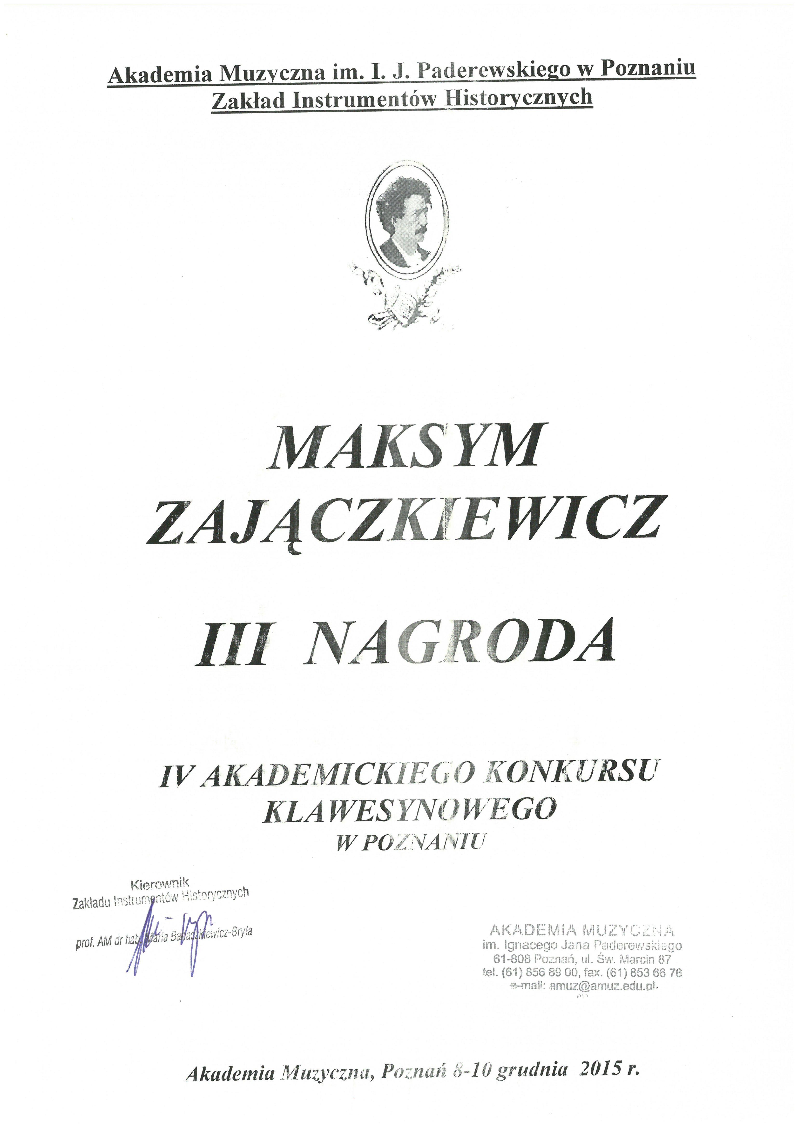 Zajaczkiewicz_III nagroda_Poznan_2015
