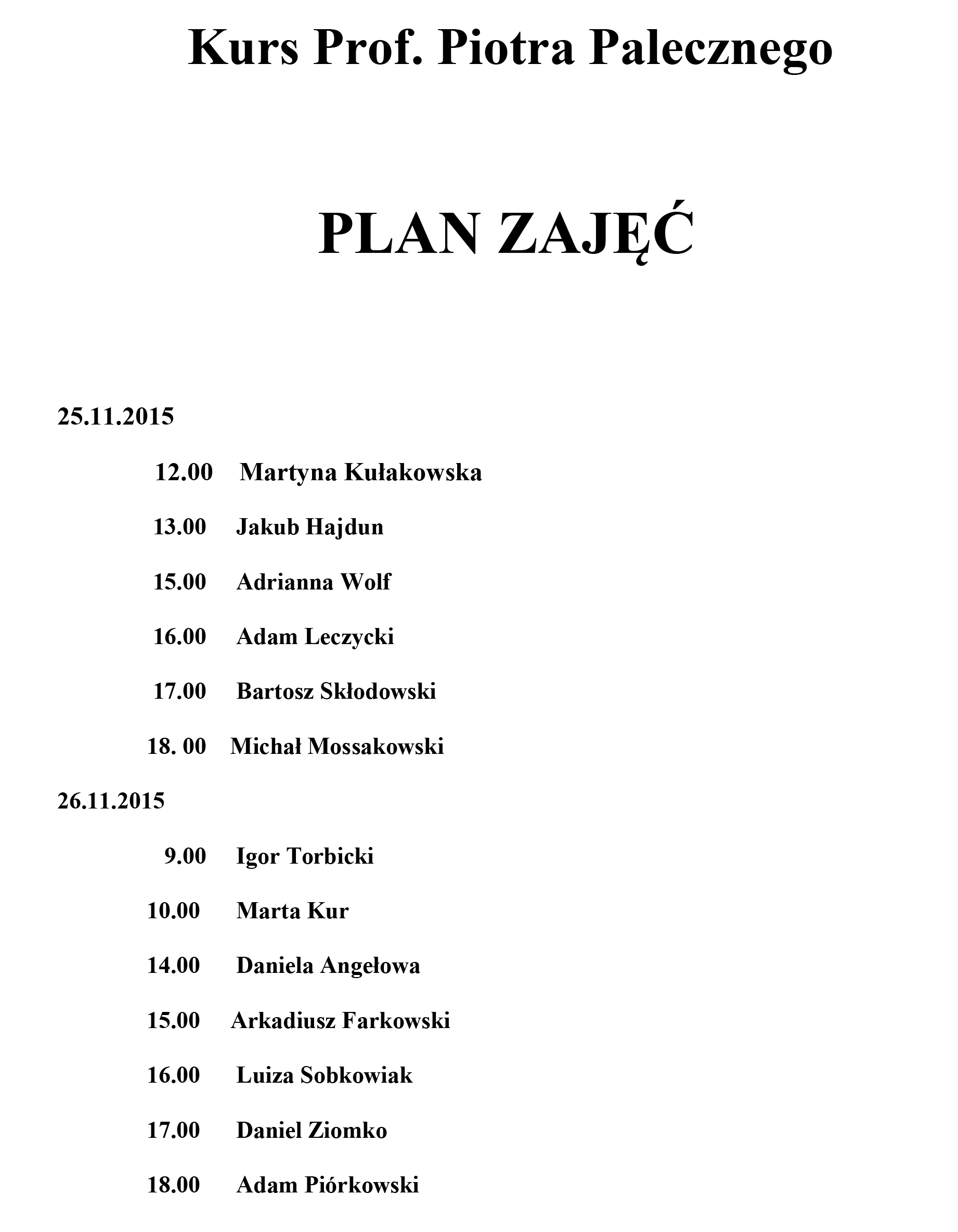 kursy pianistyczne 2018