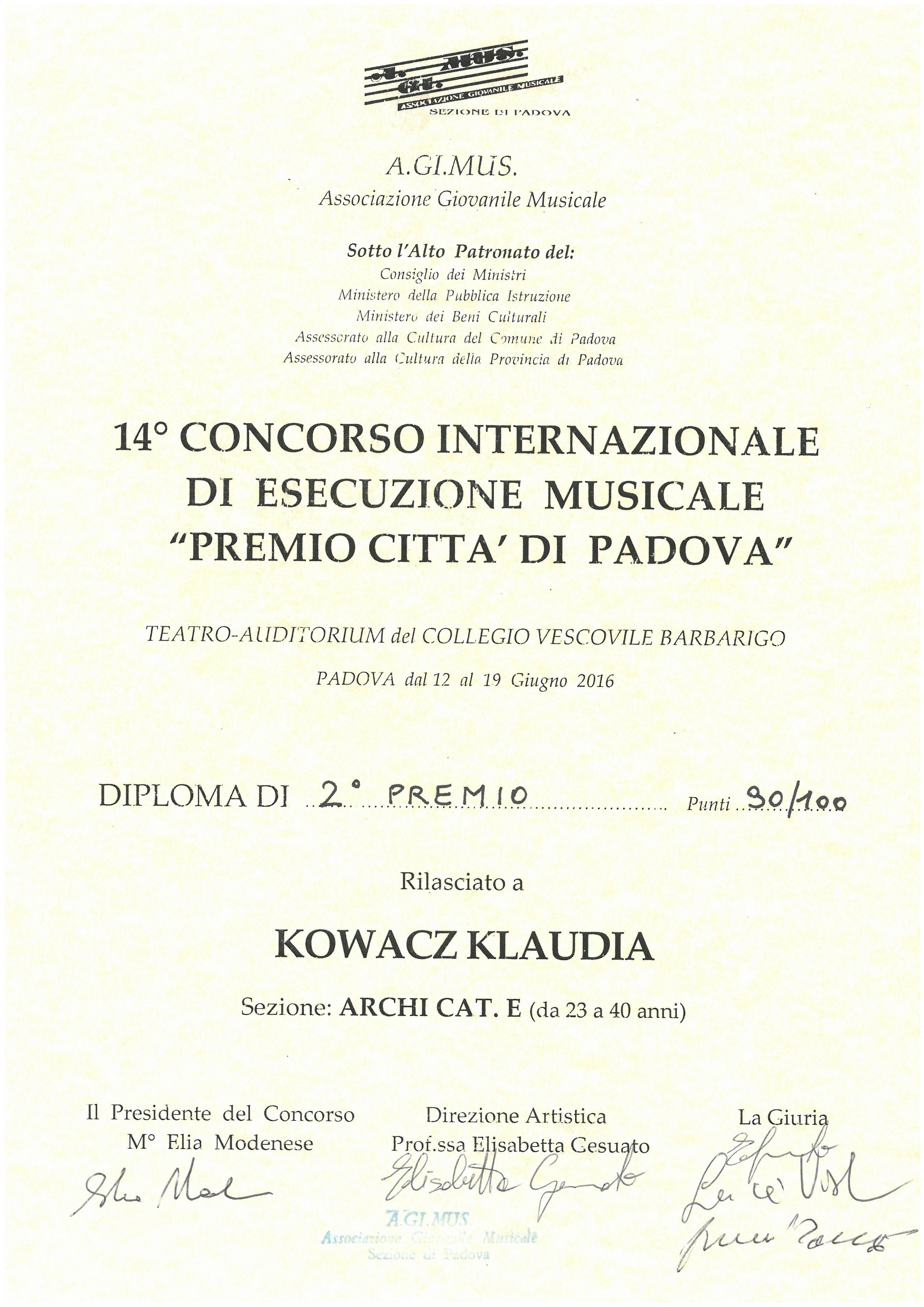 Kowacz_Klaudia_Padova_2nagroda_2016