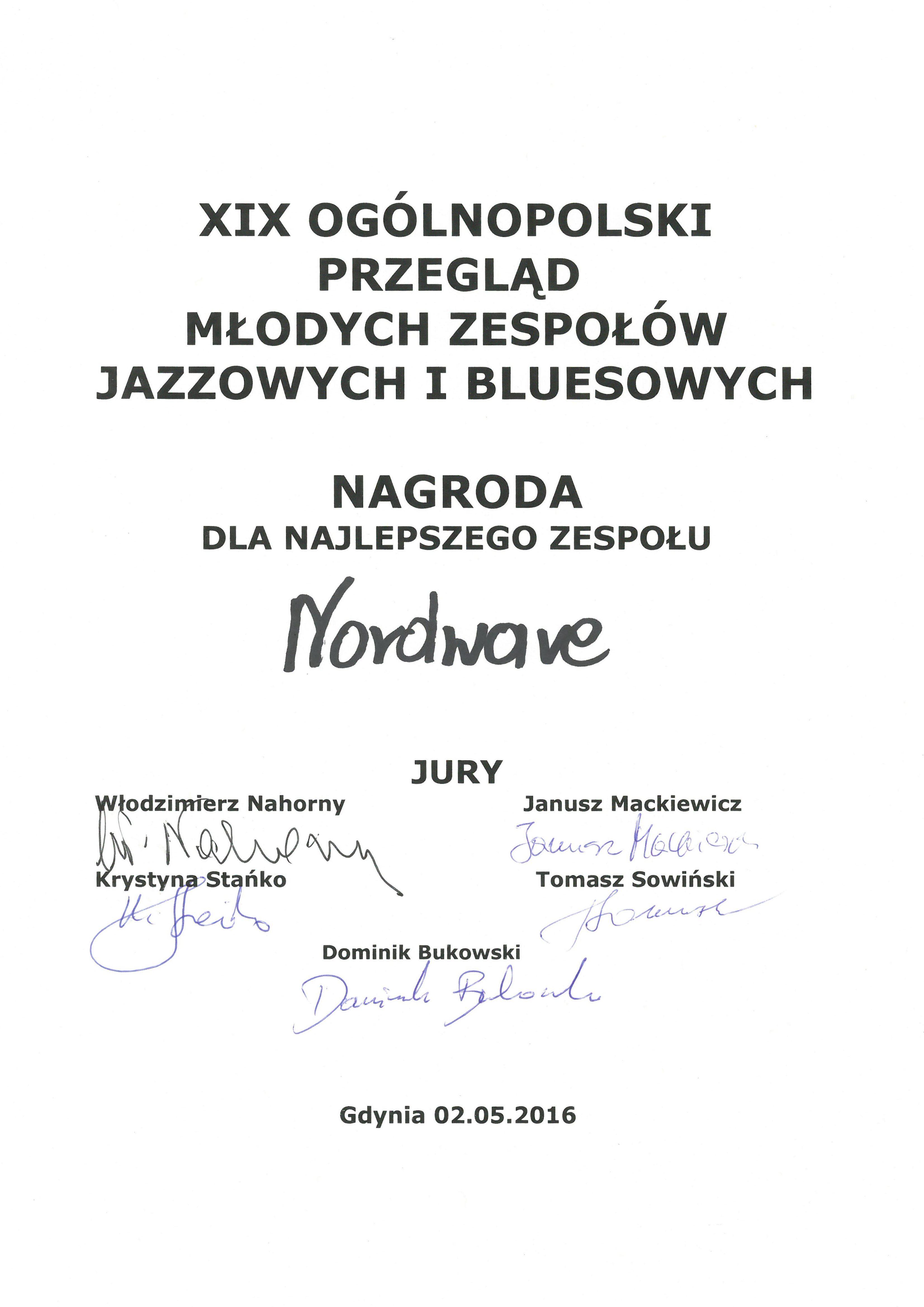 Nordwave_nagroda_Gdynia_2016