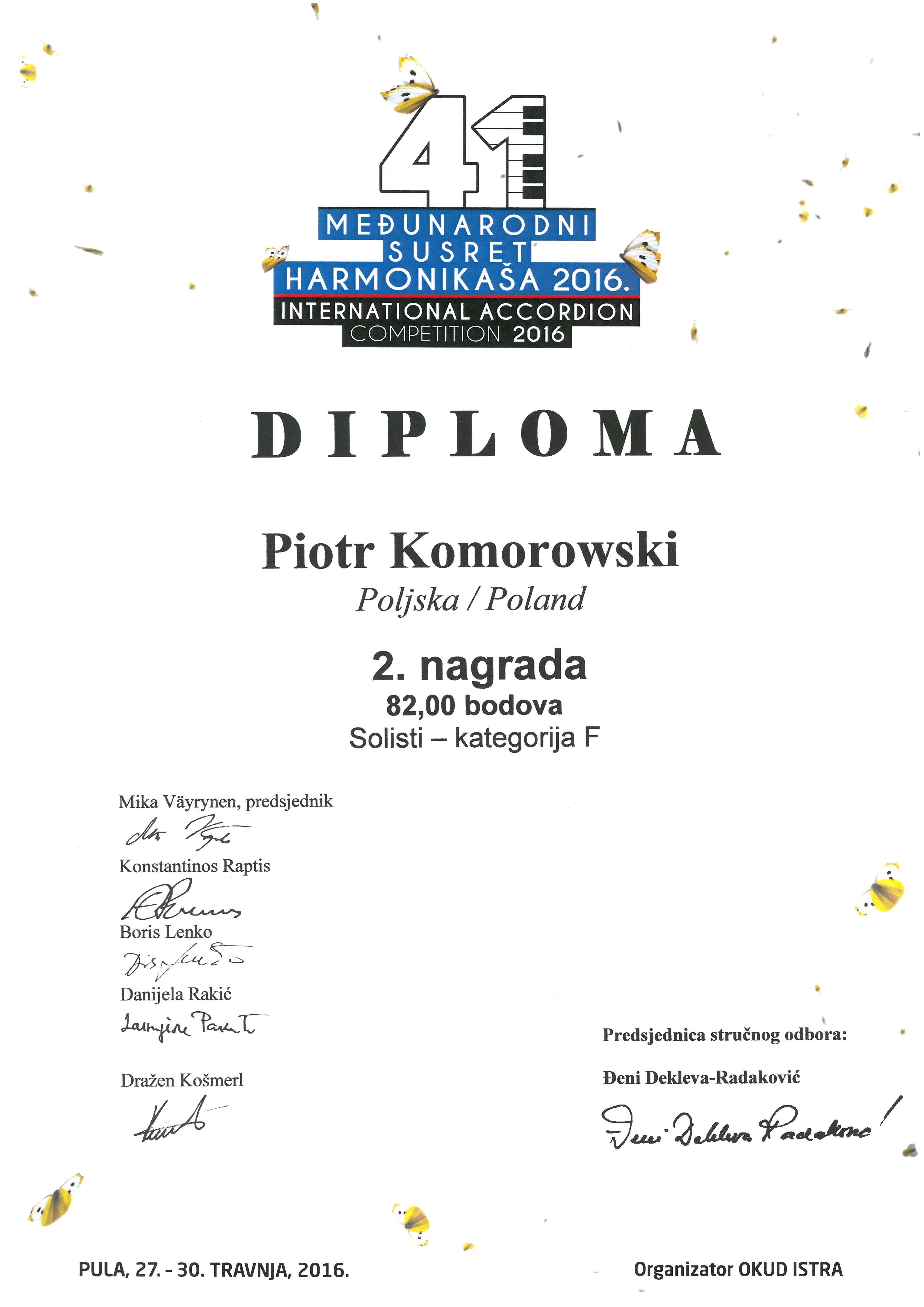 Piotr Komorowski_Pula_2016