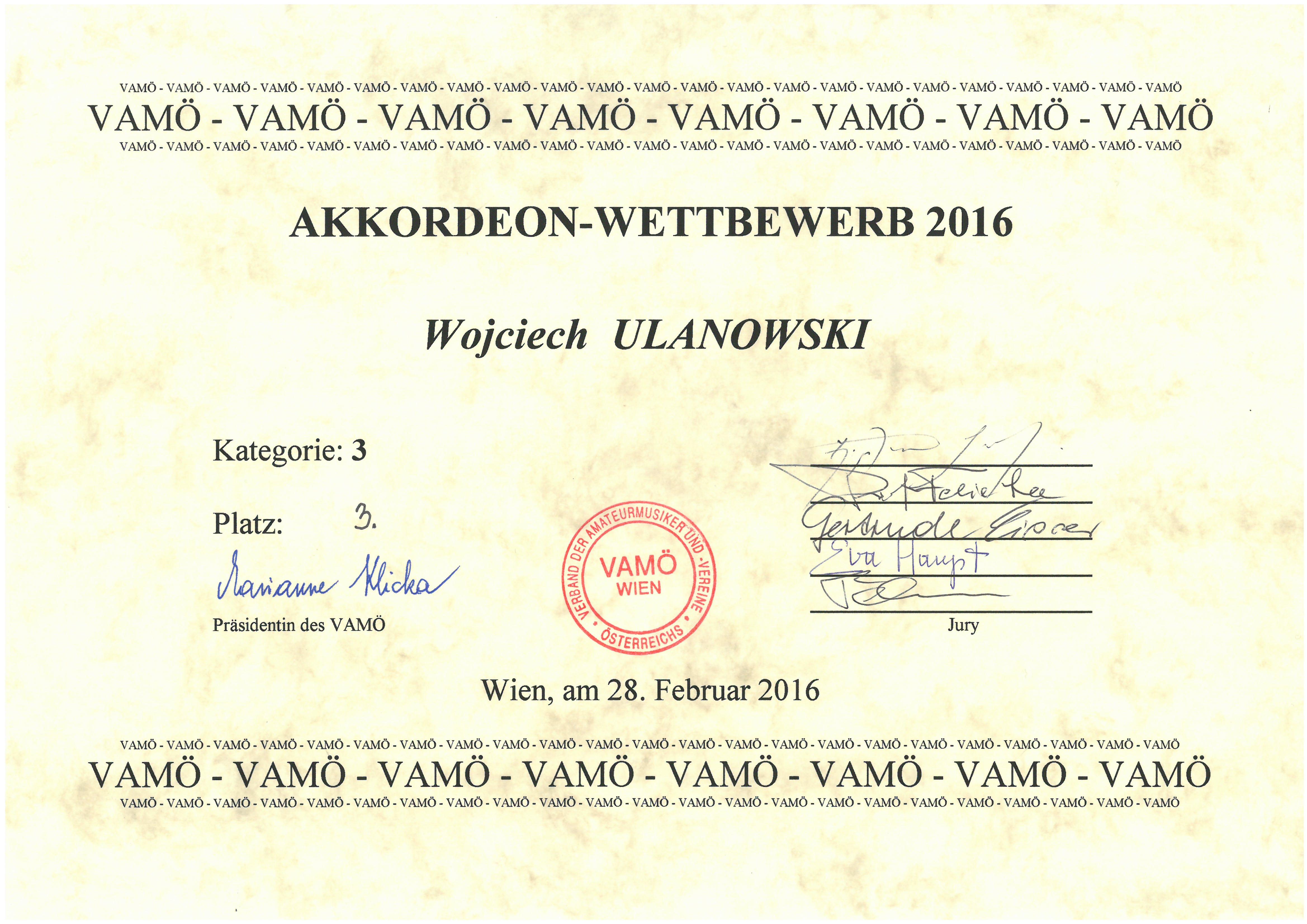 Ulanowski_Wojciech_III miejsce_Wieden_2016_dyplom