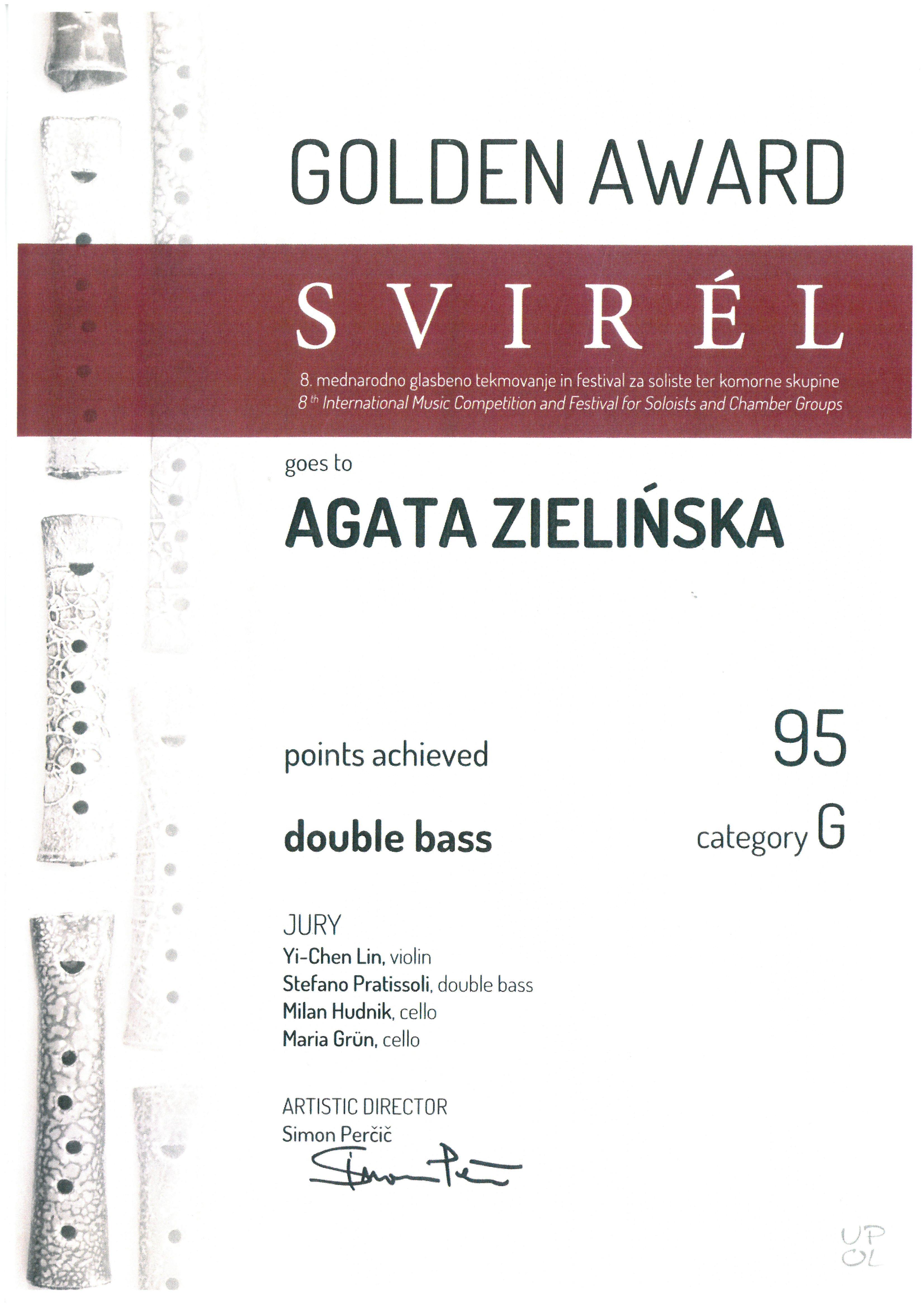 Zielinska_Agata_zloty medal_Svirel_2016