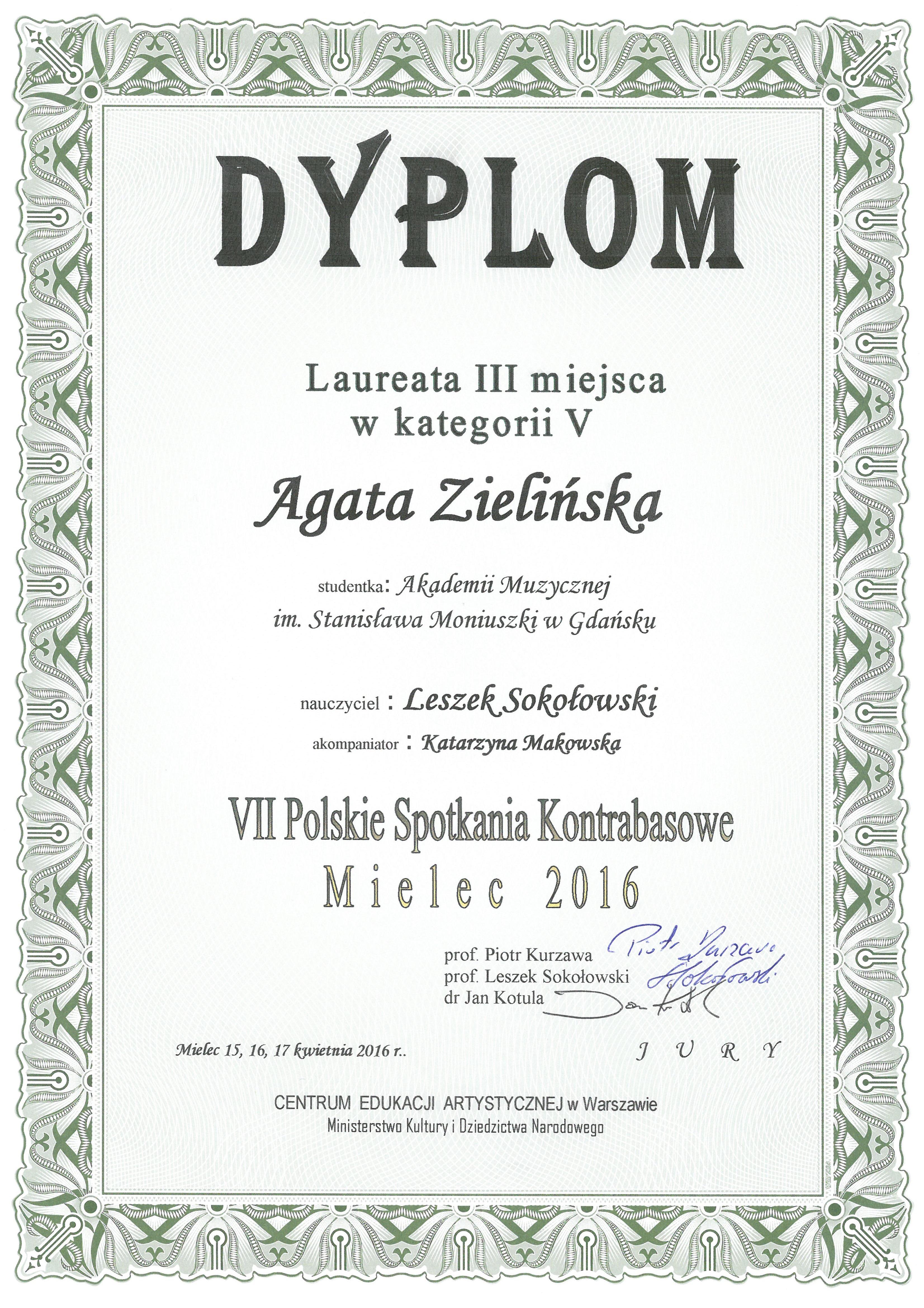 Zielinska_III miejsce_Mielec_2016