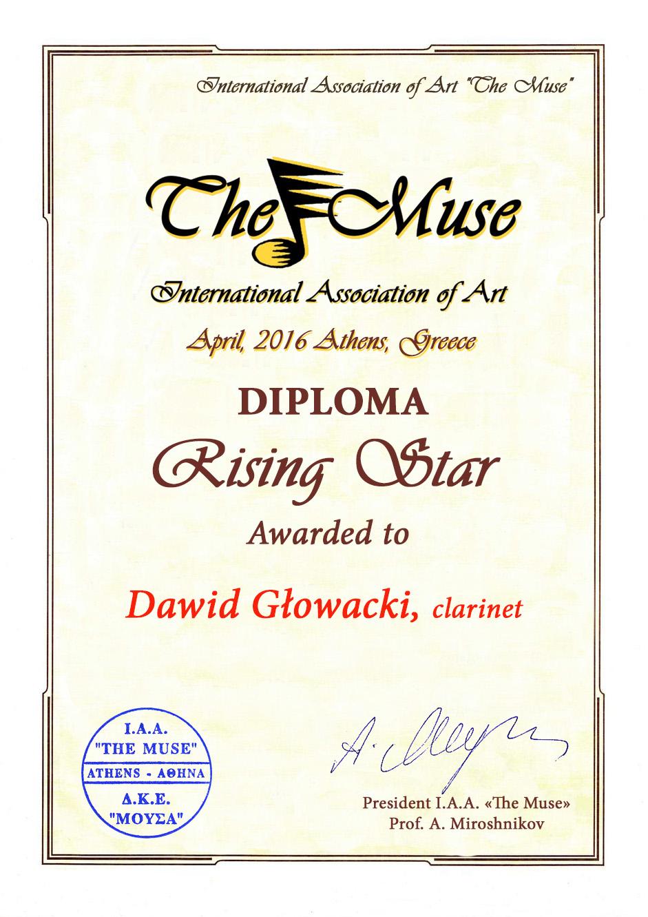 eMuse_Rising Star_Dawid Glowacki